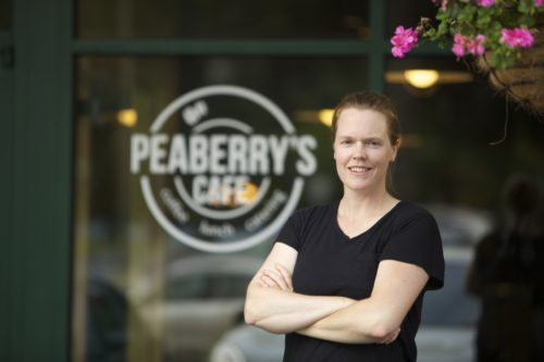 Cindy Rowland  Peaberry's Cafe